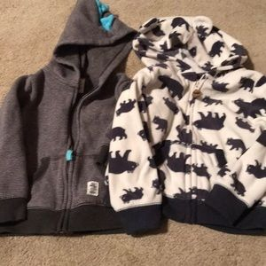 Bundle of toddler hoodies